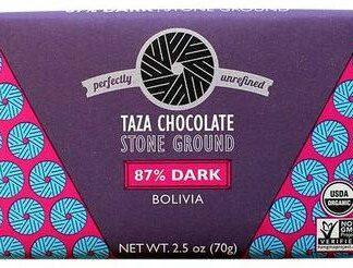 Taza 87%-os organikus étcsokoládé bolíviai kakaóból