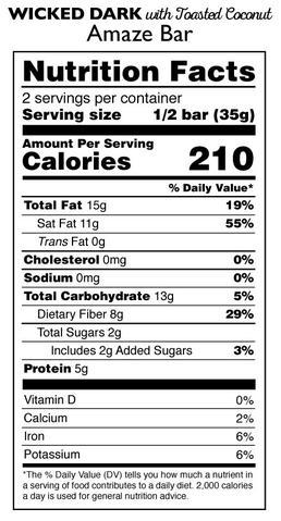 Taza 95%-os organikus étcsokoládé kókusszal