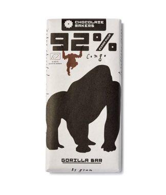 Chocolatemakers Gorilla szelet 92%-os étcsokoládé kongói kakaóból