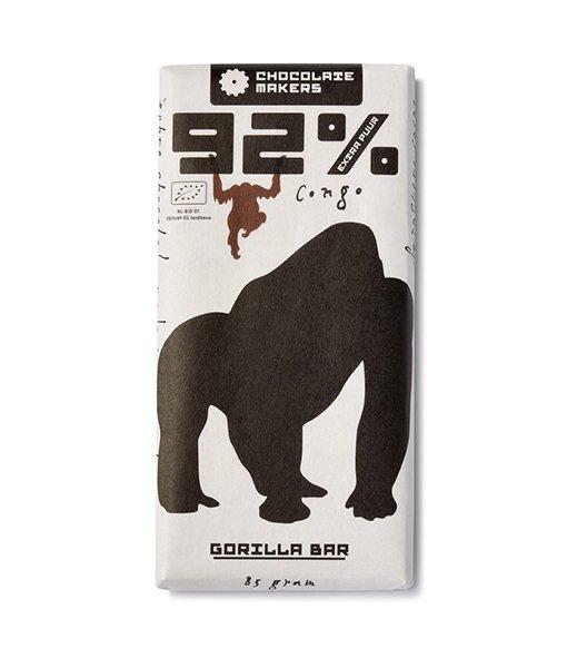 Gorilla 92%-os étcsokoládé