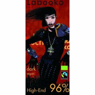 Zotter Labooko 96%-os étcsokoládé perui kakaóból