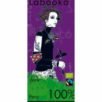 Zotter Labooko 100%-os étcsokoládé perui kakaóból
