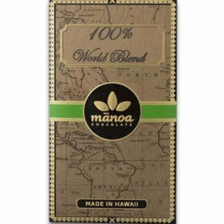 Manoa 100%-os étcsokoládé válogatott kakaóból