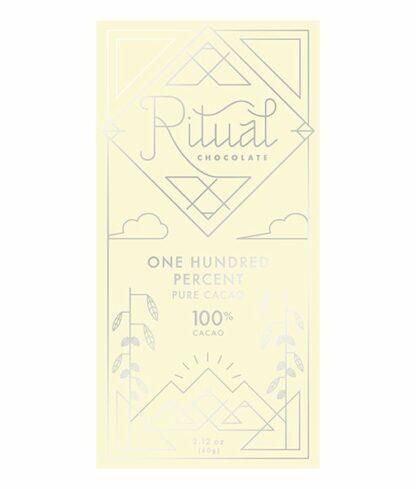 Ritual tiszta 100% étcsokoládé