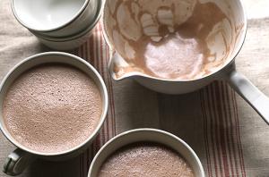 Taza forró csoki recept