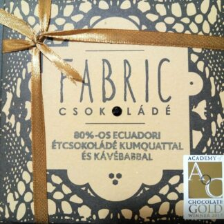 Fabric 80%-os étcsokoládé kumquattal és kávébabbal