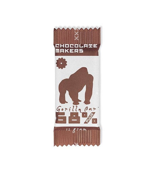 Chocolatemakers Mini Gorilla 68% étcsokoládé