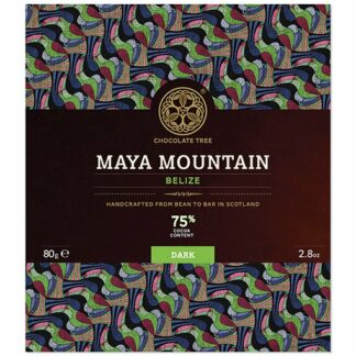 Chocolate Tree Maya Mountain 75%-os étcsokoládé Belize-i Criollo kakaóból