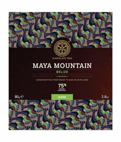 Chocolate Tree Maya Mountain 75%-os étcsokoládé Belize-i Criollo kakaóból