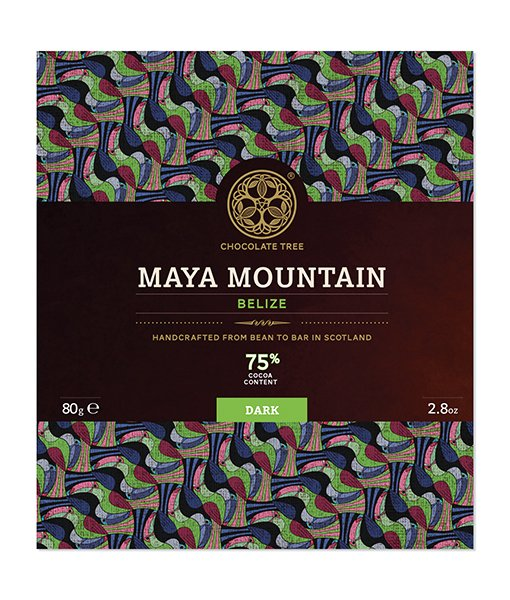 Chocolate Tree Maya Mountain 75%-os étcsokoládé