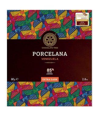 Chocolate Tree Porcelana 85%-os étcsokoládé venezuelai kakaóból