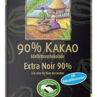 Rapunzel vegan étcsokoládé 90%-os organikus kakaóból