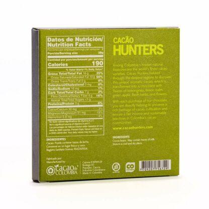 Cacao Hunters 100%-os kézműves étcsokoládé kolumbiai kakaóból