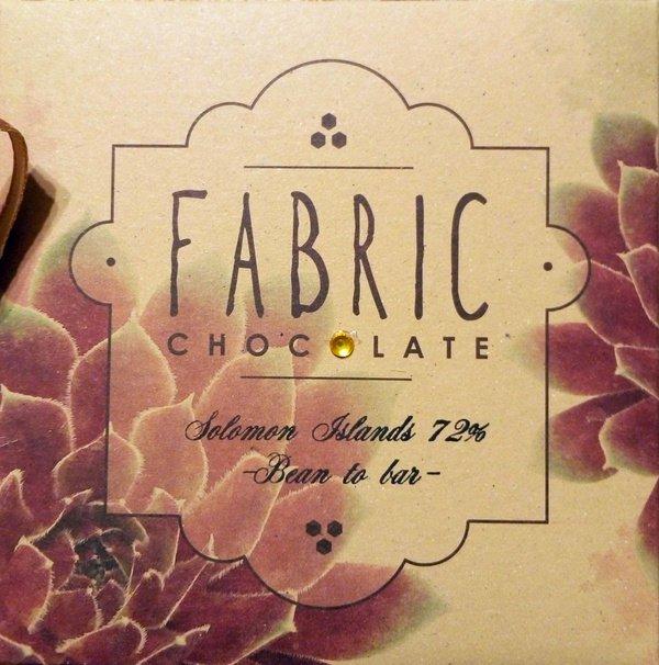 Fabric kézműves bean-to-bar Salamon szigetek 72%-os bean-to-bar kézműves étcsokoládé