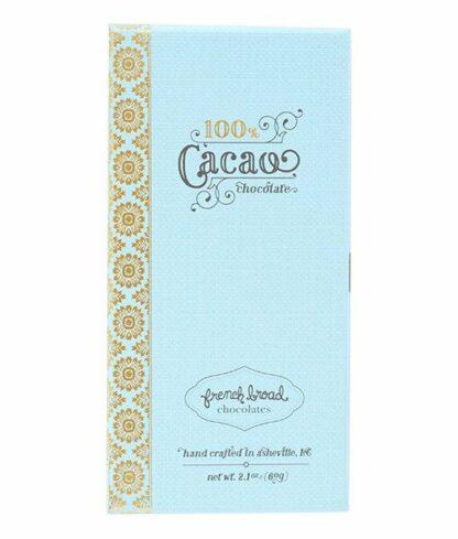 French Broad 100%-os kézműves étcsokoládé válogatott kakaóból