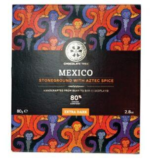 Chocolate Tree mexikói fűszeres étcsokoládé 80%