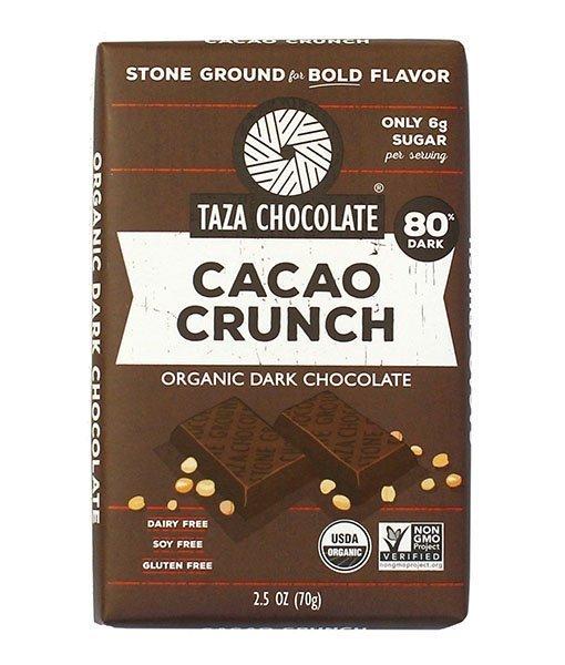 Taza Cacao Crunch 80% étcsokoládé
