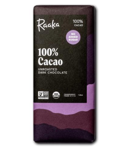 Raaka 100%-os étcsokoládé